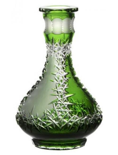 Vodní dýmka Frozen, barva zelená, výška 265 mm