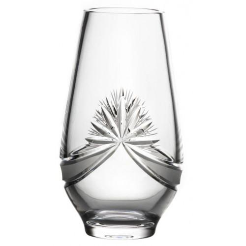 Váza Mašle, barva čirý křišťál, výška 305 mm