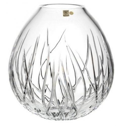 Váza Mořské řasy, barva čirý křišťál, výška 280 mm