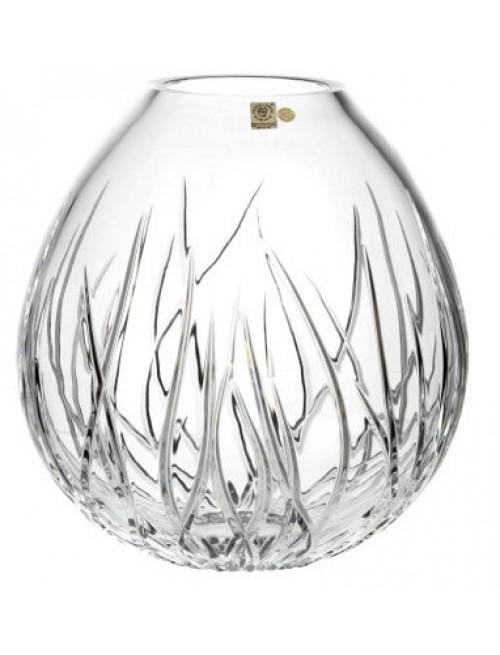 Váza Mořské řasy, barva čirý křišťál, výška 210 mm