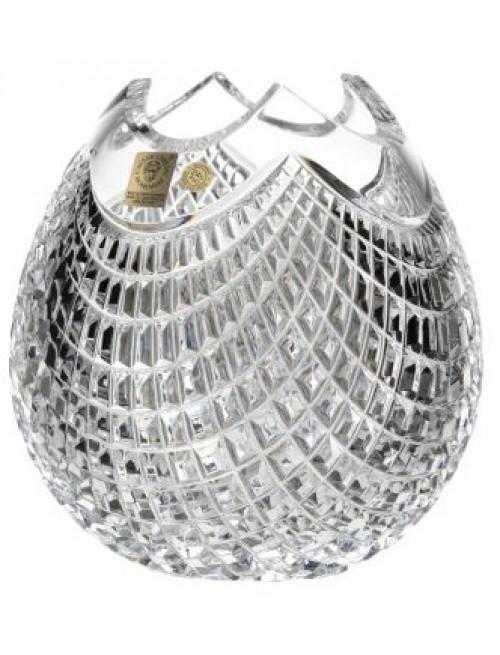 Váza Quadrus, barva čirý křišťál, výška 165 mm