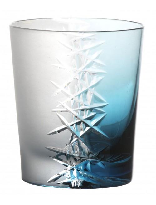 Sklenička Frozen, barva azurová, objem 290 ml