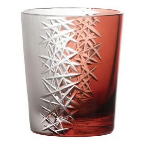 Sklenička Frozen, barva rubín, objem 290 ml