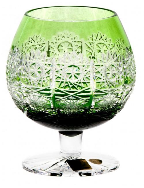 Sklenička Brandy Paula, barva zelená, objem 300 ml