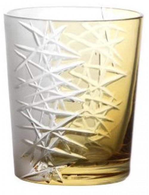 Sklenička Frozen, barva amber, objem 290 ml