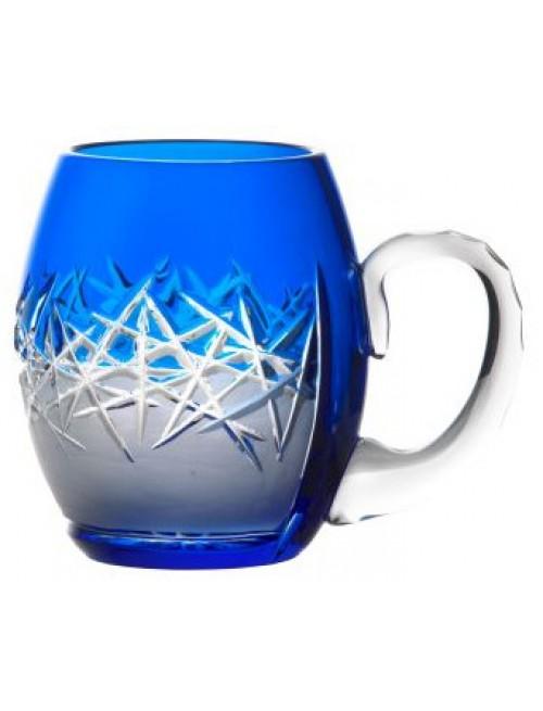 Sklenice na pivo Hoarfrost, barva modrá, objem 500 ml