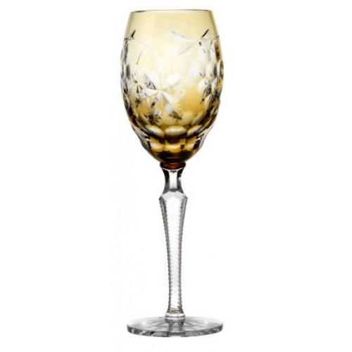 Sklenice na víno Grapes, barva amber, objem 280 ml