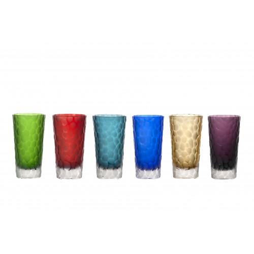 Set skleničky Kuličky, barva mix barev, objem 290 ml