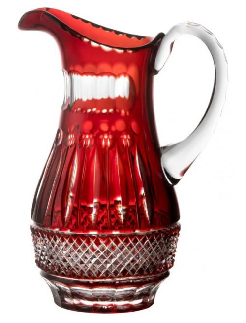 Džbán Tomy, barva rubín, objem 1500 ml