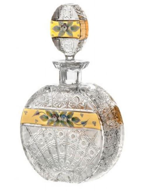Láhev 500K Zlato, barva čirý křišťál, objem 600 ml