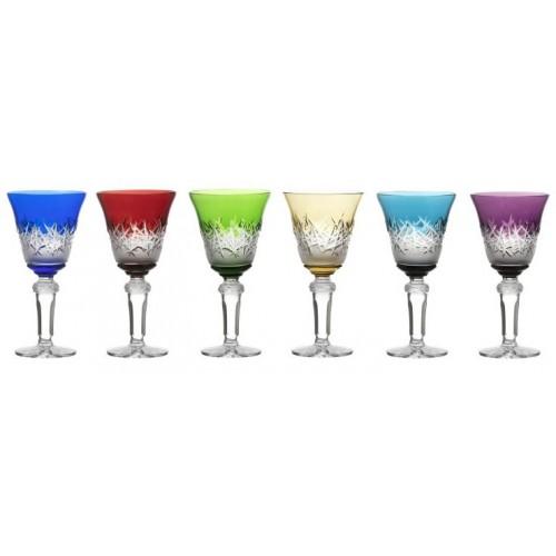 Set Sklenice na víno Hoarfrost, barva mix barev, objem 240 ml