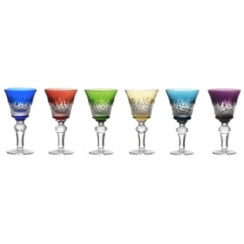 Set sklenice Hoarfrost, barva mix barev, objem 120 ml