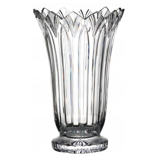Váza Lotos, barva čirý křišťál, výška 405 mm