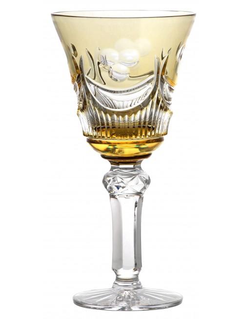 Sklenice na víno Diadem, barva amber, objem 180 ml