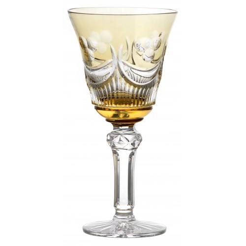 Sklenice na víno Diadem, barva amber, objem 240 ml