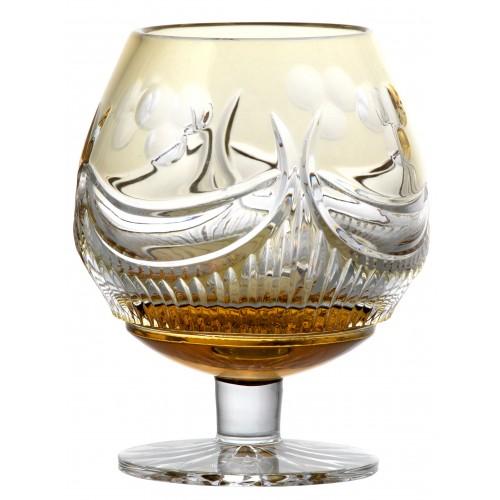 Sklenička Brendy Diadem, barva amber, objem 300 ml