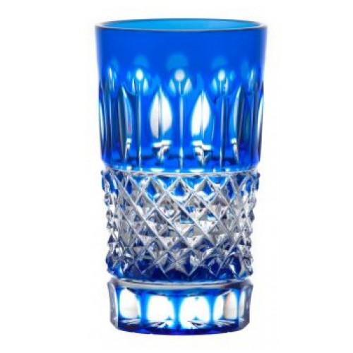 Sklenička Tomy, barva modrá, objem 125 ml