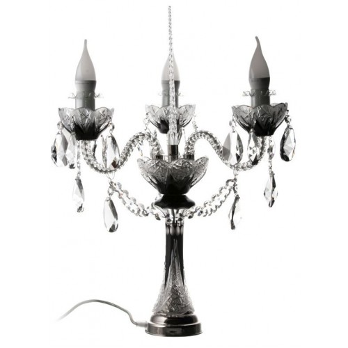 Lampa Poupě S3 C, barva černá, výška 310 mm