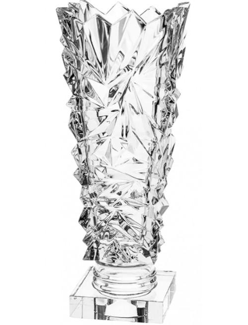 Váza Glacier, barva čirý křišťál, výška 380 mm