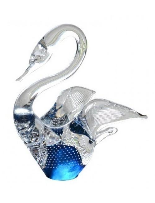 Labuť velká, hutní sklo výška 230 mm
