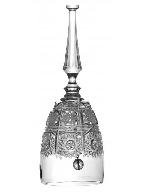 Zvonek 500PK, barva čirý křišťál, výška 95 mm