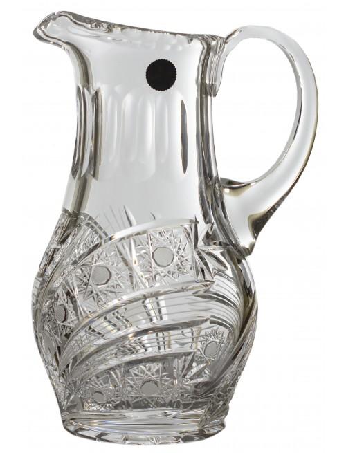 Džbán Kometa, barva čirý křišťál, objem 1200 ml