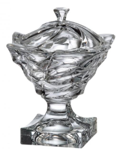 Dóza Flamenco, bezolovnatý crystalite, průměr 250 mm