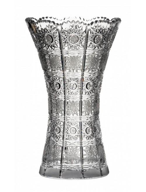 Váza 500PK II, barva čirý křišťál, výška 230 mm