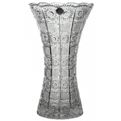 Váza 500PK II, barva čirý křišťál, výška 355 mm