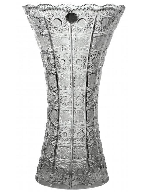 Váza 500PK II, barva čirý krišťál, výška 280 mm