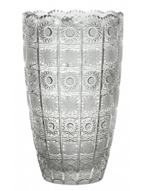 Váza 500PK II, barva čirý křišťál, výška 405 mm