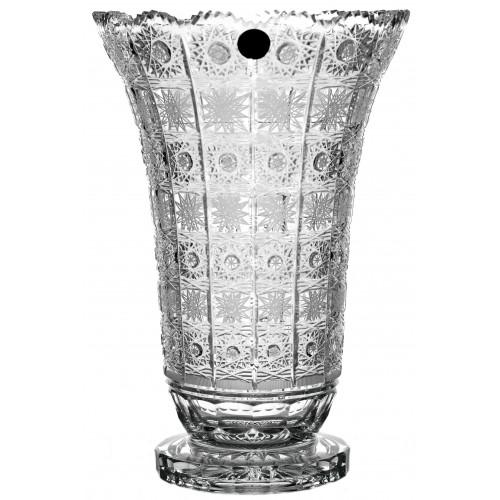 Váza 500PK V, barva čirý křišťál, výška 255 mm