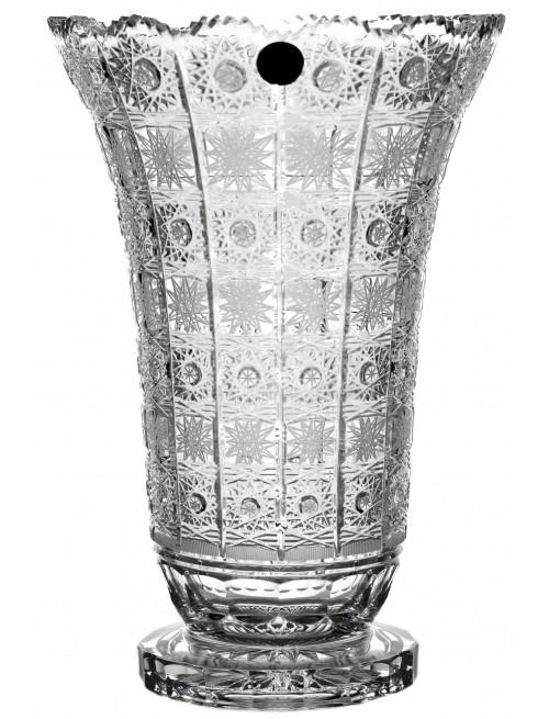 Váza 500PK II, barva čirý křišťál, výška 305 mm