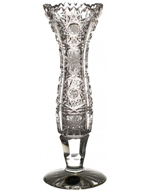 Váza 500PK, barva čirý křišťál, výška 155 mm