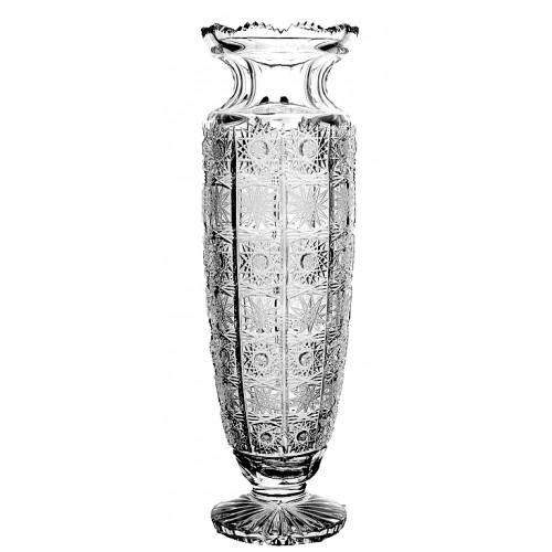 Váza 500PK V, barva čirý křišťál, výška 305 mm
