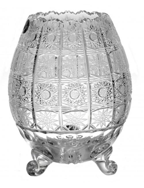 Váza 500PK III, barva čirý křišťál, výška 205 mm