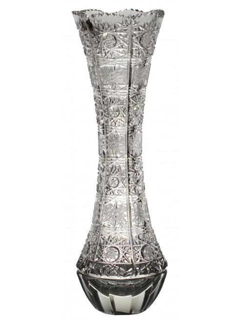 Váza 500PK II, barva čirý křišťál, výška 280 mm
