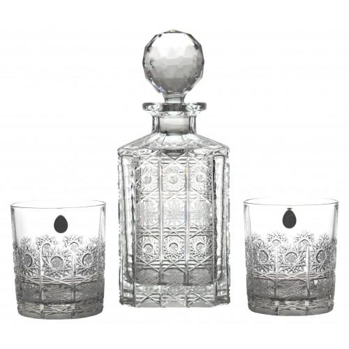 Set Whisky 1+6, barva čirý křišťál, objem 800 ml + 320 ml