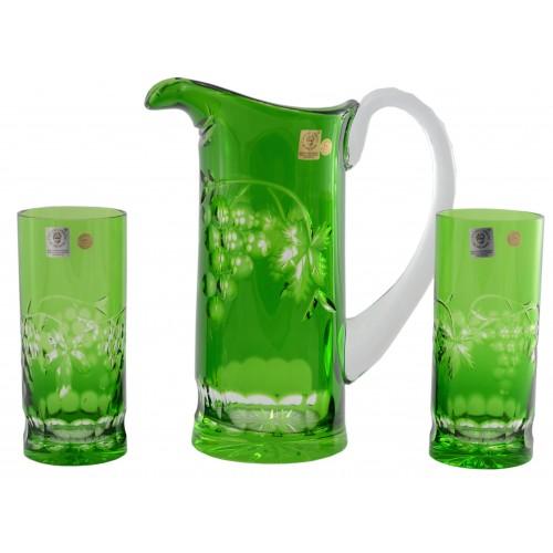Set Grapes, barva zelená, objem 900 ml + 2x 350 ml