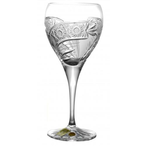 Sklenice na víno Kometa, barva čirý křišťál, objem 270 ml