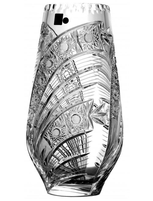 Váza Kometa, barva čirý křišťál, výška 305 mm