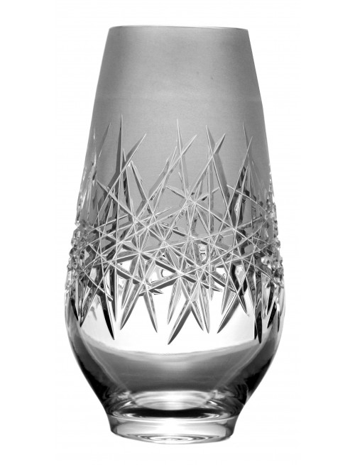 Váza Hoarfrost, barva čirý křišťál, výška 255 mm